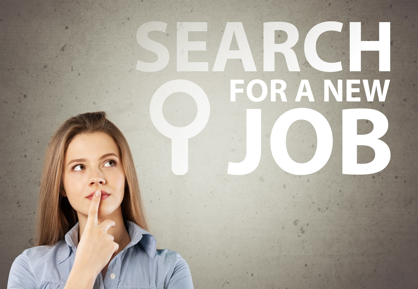 search for new job